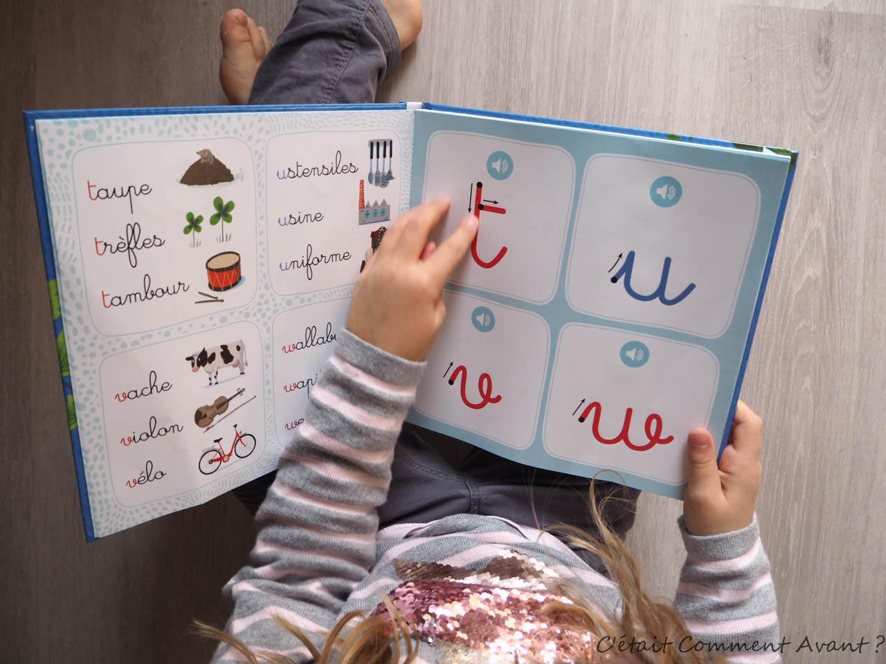 Mon Abecedaire Sonore Montessori De Grund Lecture C Etait Comment Avant
